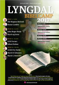 Bibelcamp @ KVS Lyngdal
