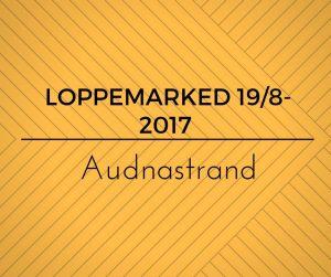 Loppemarked @ Audnastrand